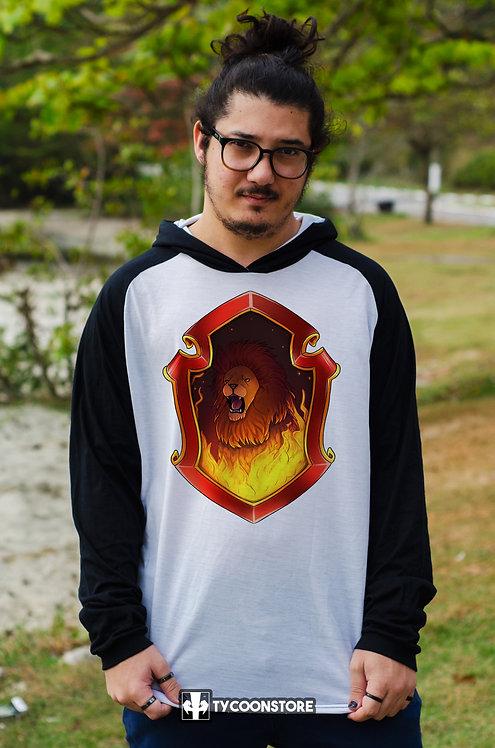Camiseta Capuz - Brasão Grifinória