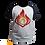 Thumbnail: Camiseta Manga Preta - Pyro (Genshin Impact)