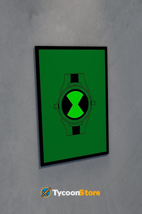 Placa Decorativa - Ben 10 Omnitrix