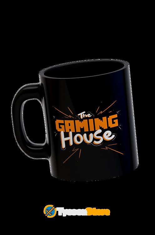Caneca Preta - The Gaming House (Casa Gamer)