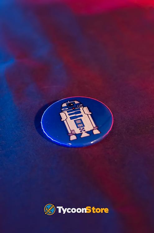 Botton - R2D2 Star Wars Pixel Art