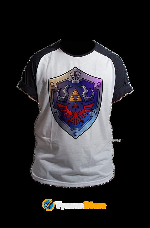 Camiseta -  Hylian Shield (The Legend of Zelda)