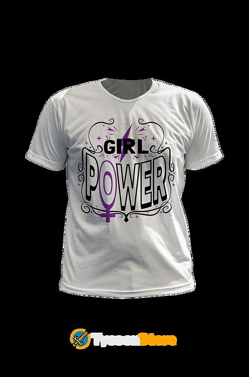 Camiseta - Girl Power
