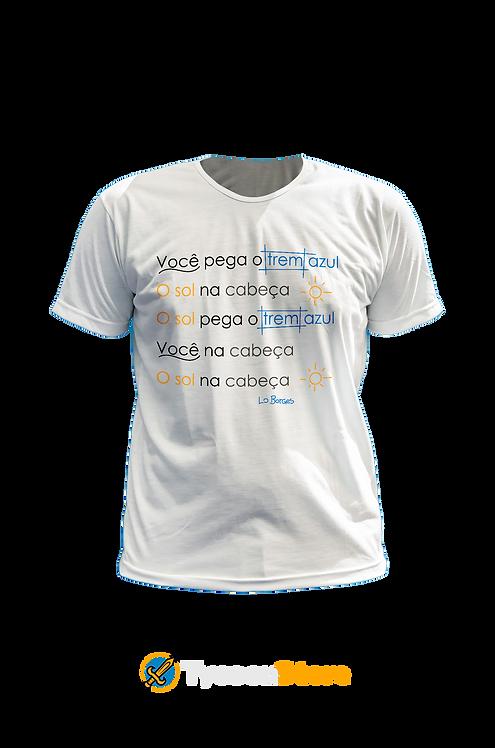 Camiseta - Trem Azul (Lô Borges) Clube da Esquina