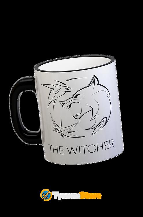 Caneca Alça Preta - The  Witcher
