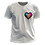 Thumbnail: Camiseta - Pansexual (LGBT Pixel Art Coração)