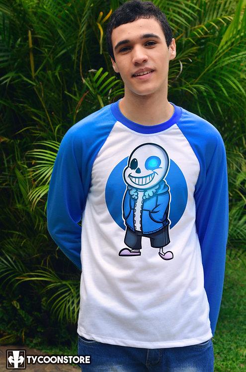 Camiseta Manga Comprida - Sans