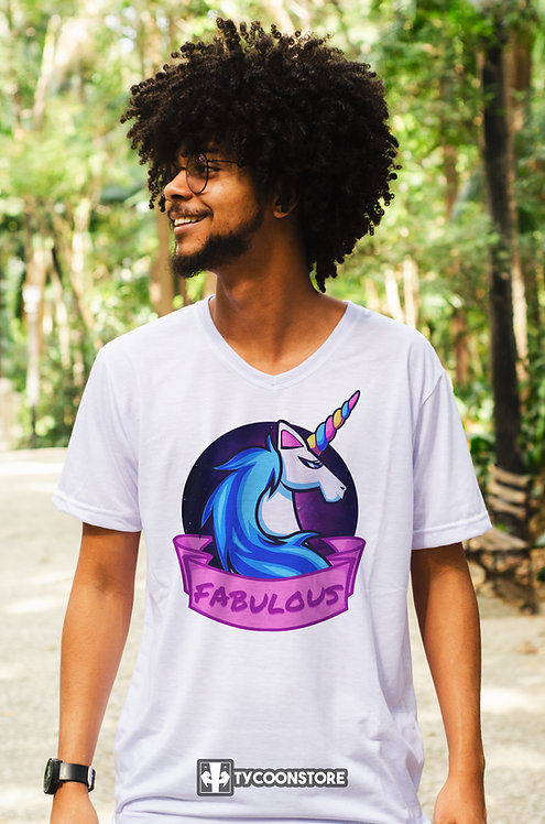 Camiseta - Fabulous Unicórnio