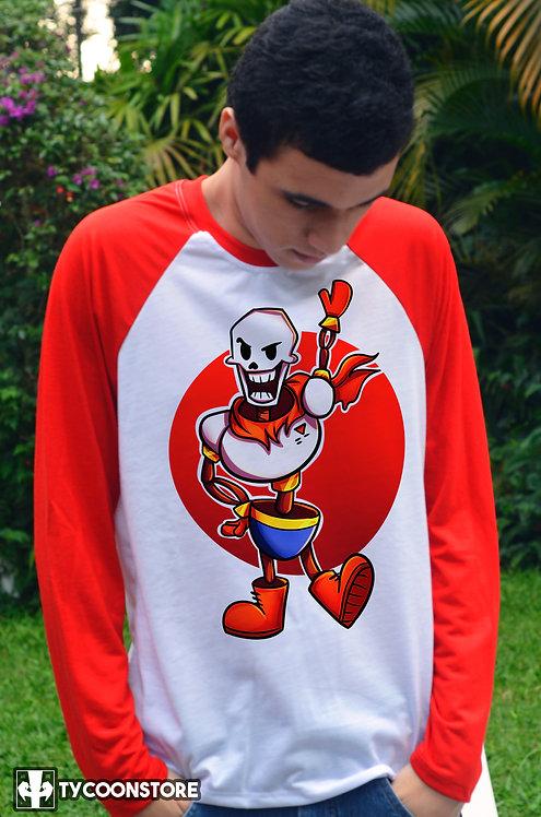 Camiseta Manga Comprida  - Papyrus