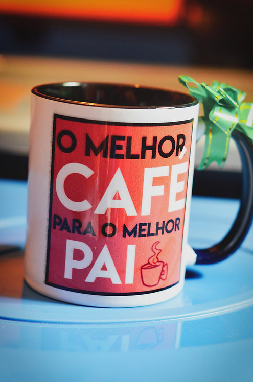 Caneca - Melhor café, melhor pai (Presente para Pai)