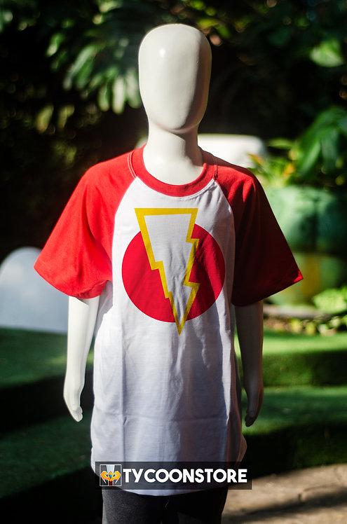 Camiseta Infantil - Shazam Símbolo
