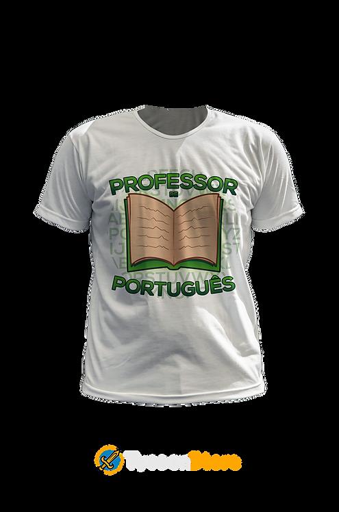 Camiseta Branca - Professor de Português