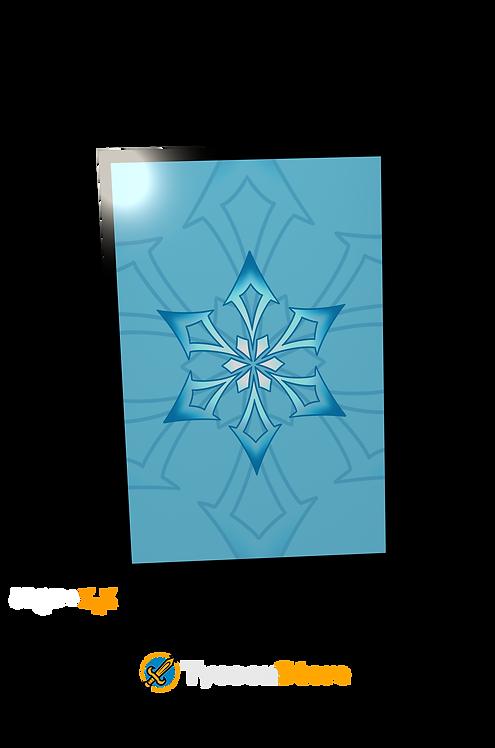 Placa Decorativa - Cryo (Genshin Impact)