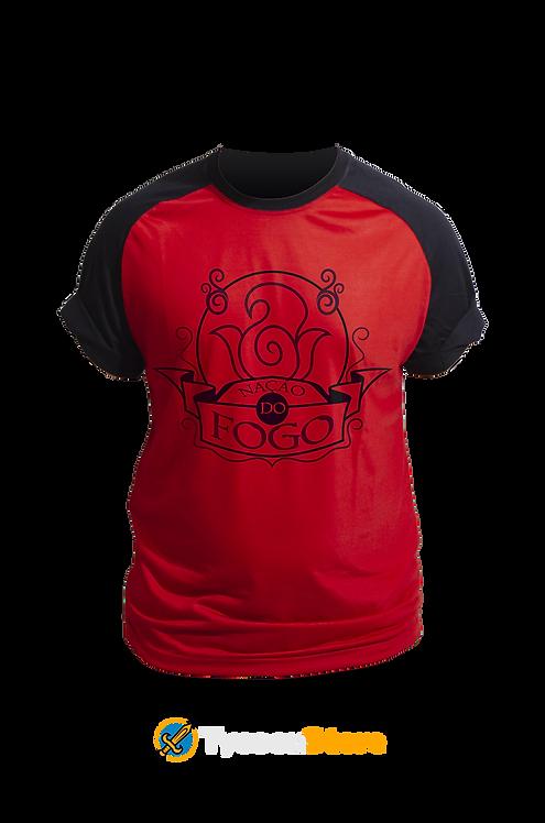 Camiseta Colorida - Nação do Fogo (Avatar)
