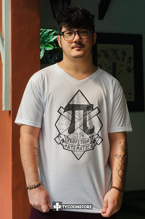 Camiseta - Professor de Matemática