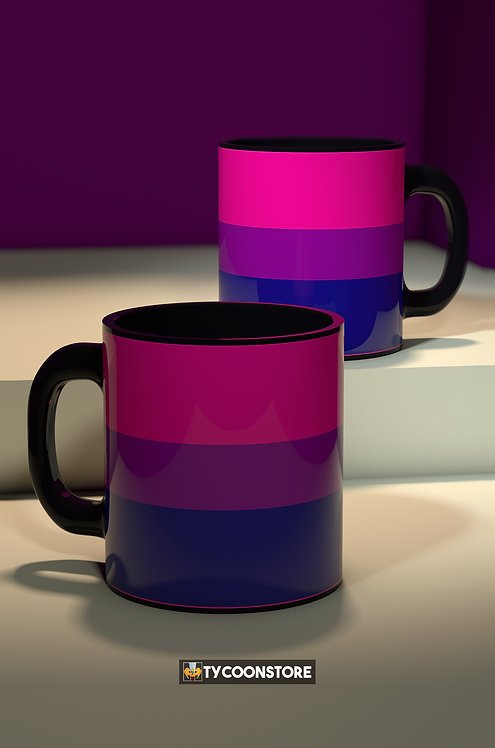 Caneca - Bandeira Bissexual