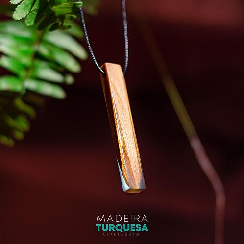 Colar - Resina e Madeira #74