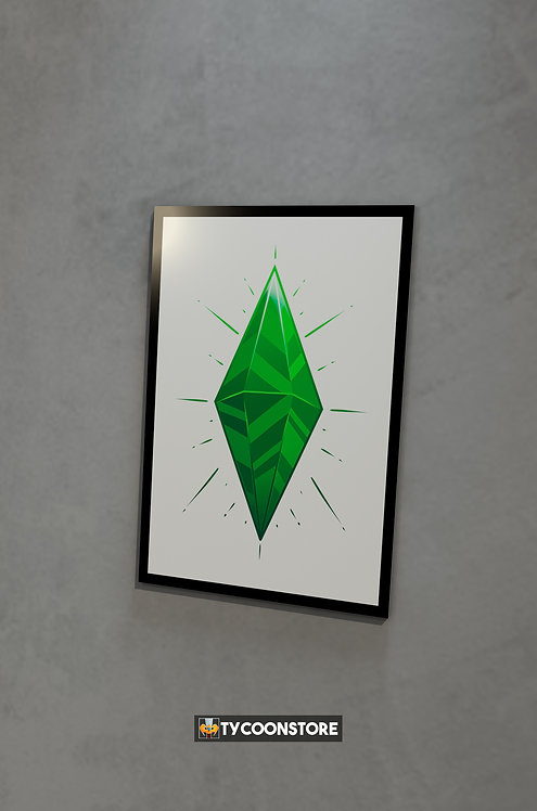 Placa Decorativa - The Sims