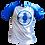 Thumbnail: Camiseta Manga Azul - Freedom Fighters (Lady Gaga Chromatica)