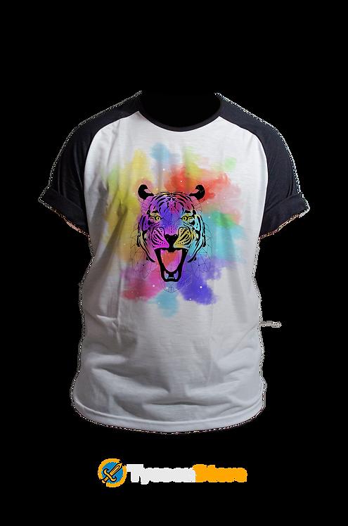 Camiseta - Tigre Lowpoly