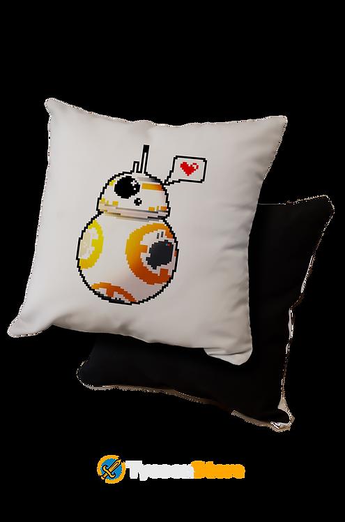 Almofada - BB-8 Droid Love Pixel Art