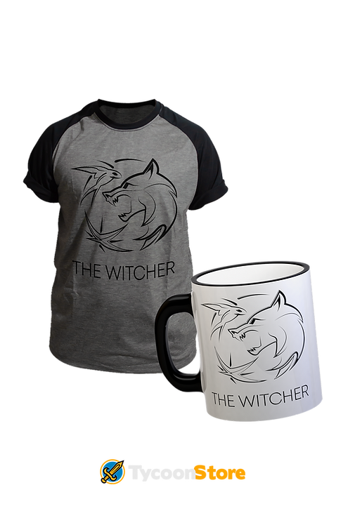 KIT - The Witcher Série (Camiseta e Caneca)