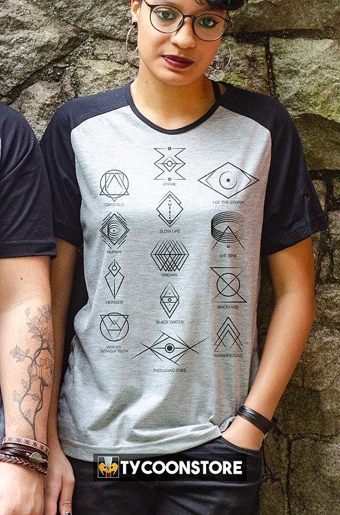 Camiseta Mescla - (Beneath the skin) Of Monsters and Men
