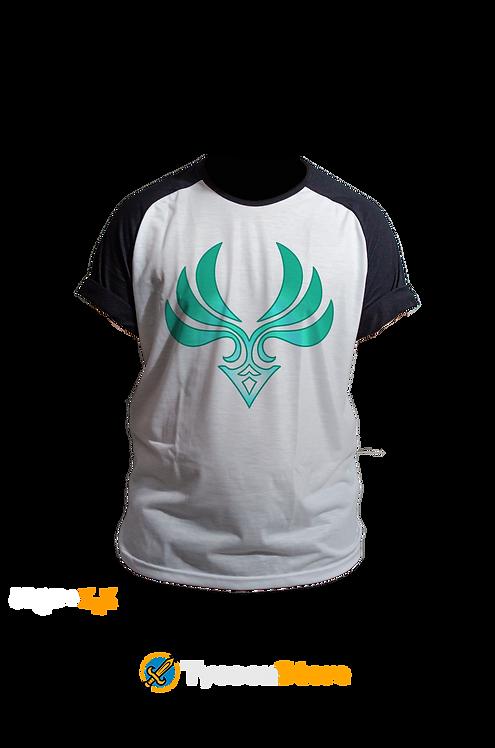 Camiseta Raglan - Anemo (Genshin Impact)