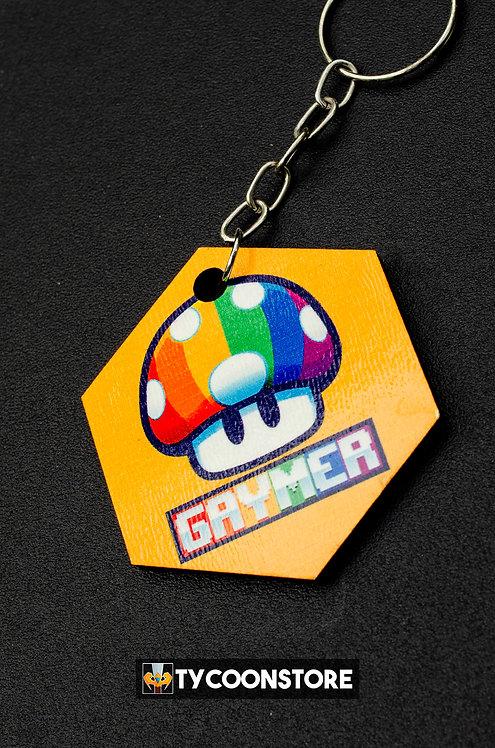 Chaveiro MDF - Gaymer