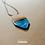 Thumbnail: Colar - Resina e Madeira Azul #93