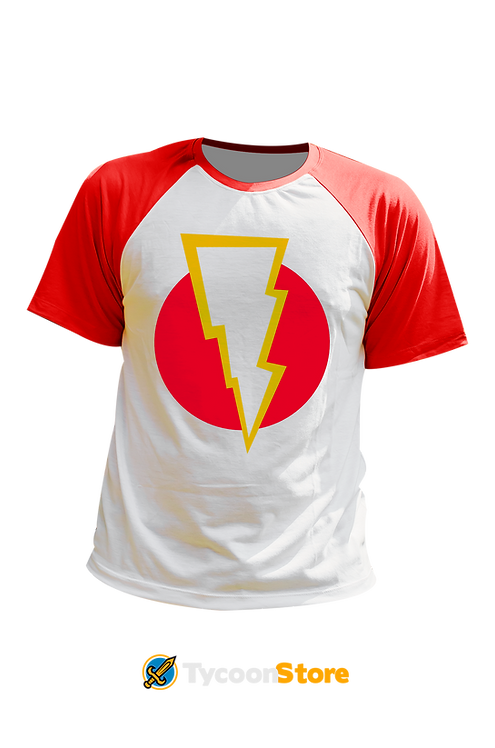 Camiseta - Shazam Símbolo