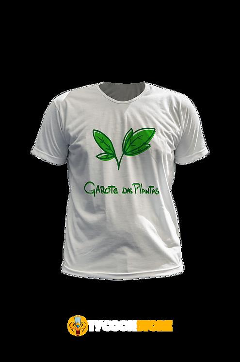 Camiseta Branca - Garota das Plantas