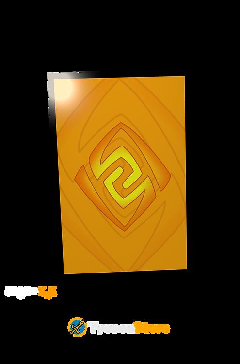 Placa Decorativa - Geo (Genshin Impact)