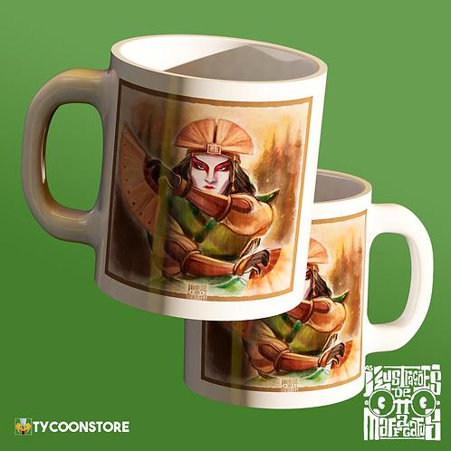 Caneca - Avatar Kyoshi (Avatar A Lenda de Aang)