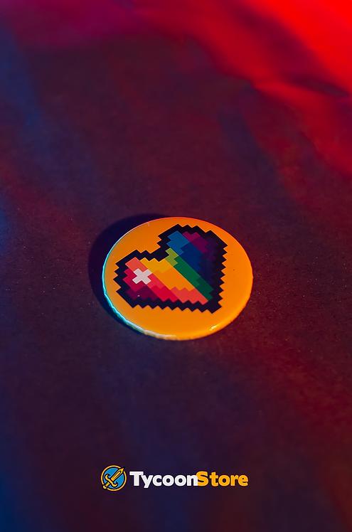 Botton - Pixel Coração LGBT