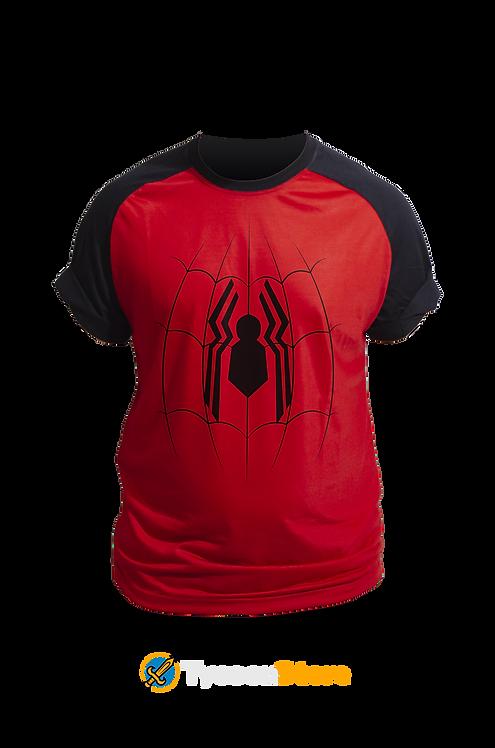 Camiseta Vermelha - Cabeça de Teia