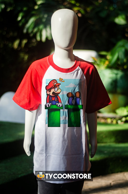 Camiseta Infantil - Mario Encanador