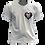 Thumbnail: Camiseta Branca - Assexual (LGBT Pixel Art Coração)