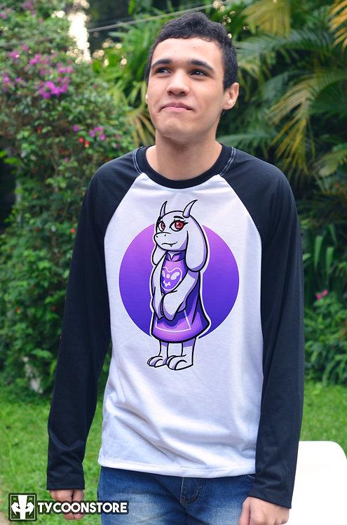 Camiseta Manga Comprida  - Toriel