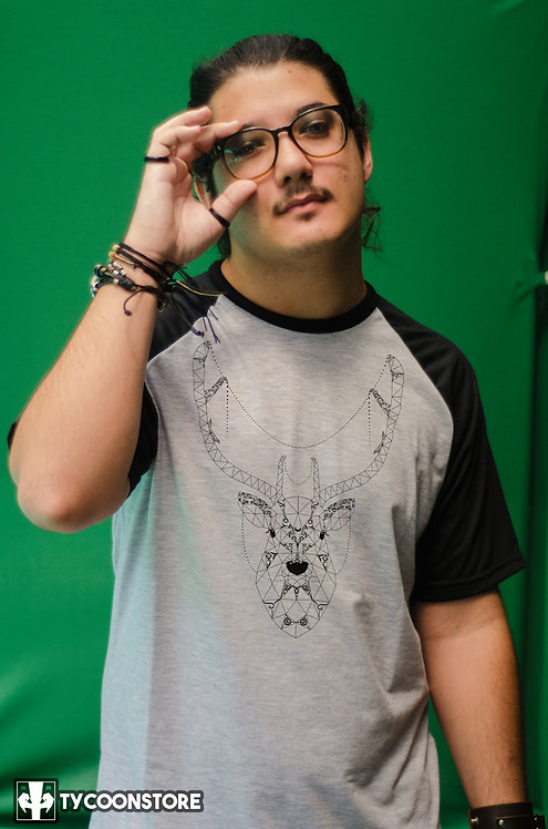 Camiseta Mescla - Cervo Lowpoly
