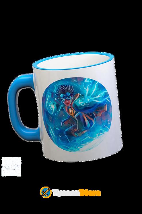 Caneca Azul - Super Choque