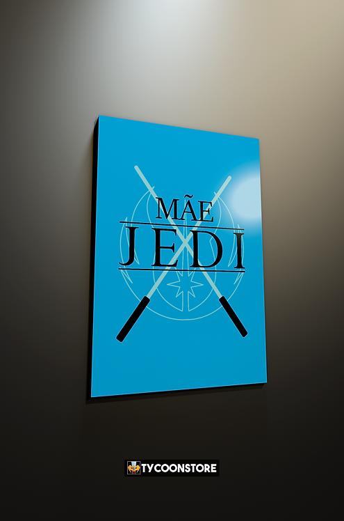 Placa Decorativa - Mãe Jedi