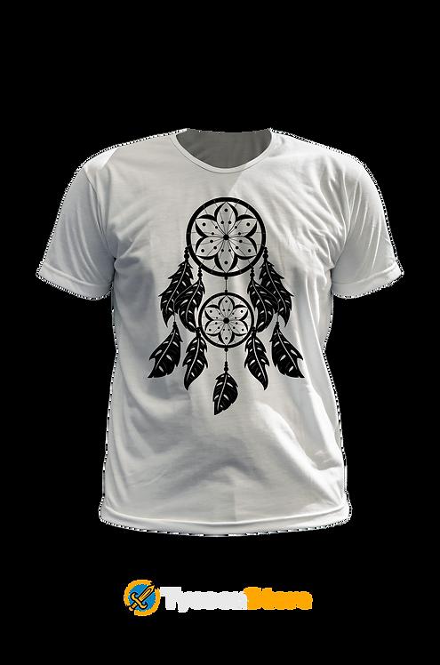 Camiseta Branca - Apanhador de Sonhos