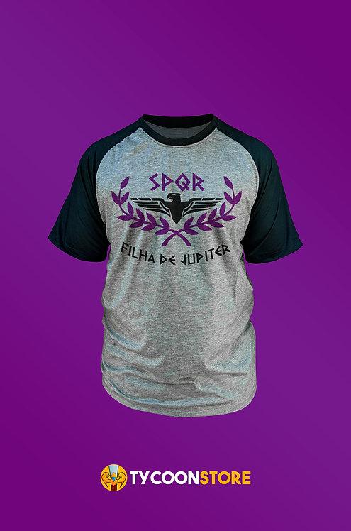 Camiseta Personalizada - Acampamento Jupiter (Percy Jackson)