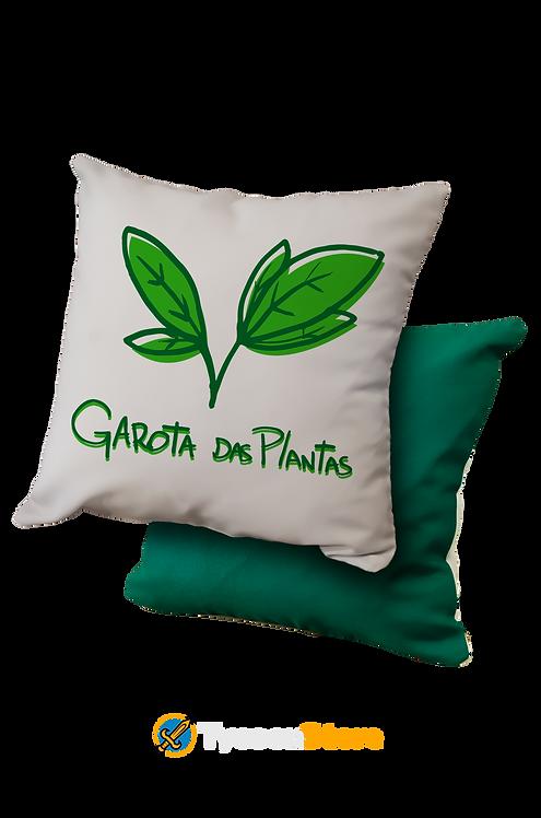 Almofada - Garota das Plantas