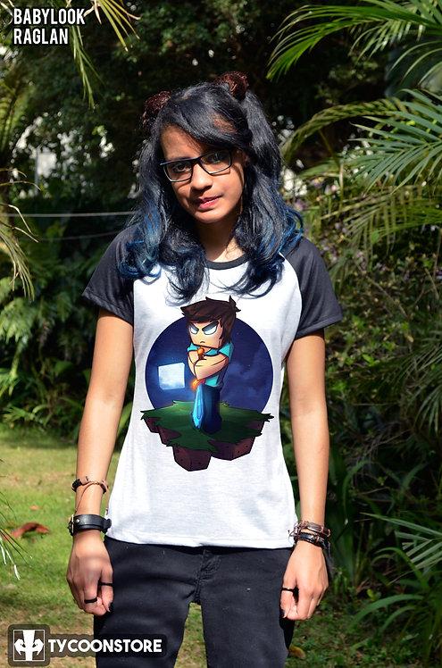 Camiseta - Herobrine (Minecraft)