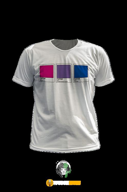 Camiseta - Bandeira Bissexual Pantone