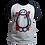 Thumbnail: Camiseta Manga Preta - Baymax (Operação Big Hero)