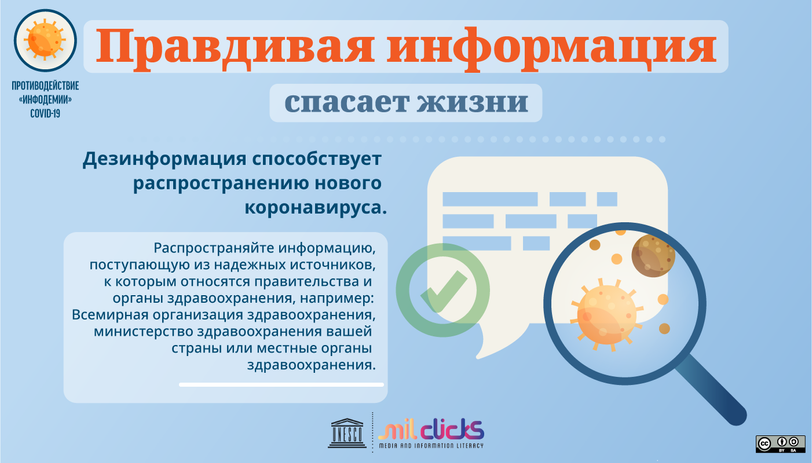 Visual resources to combat misinformation