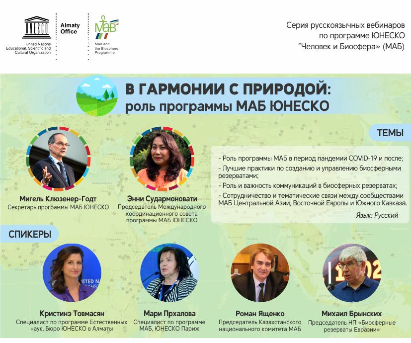 В гармонии с природой: биосферные резерваты ЮНЕСКО в ответ на пандемию COVID-19